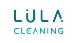 Lula.Cleaning – logo dwukolorowe na jasne tło – kwadrat(1)